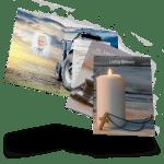 waterford memorial cards